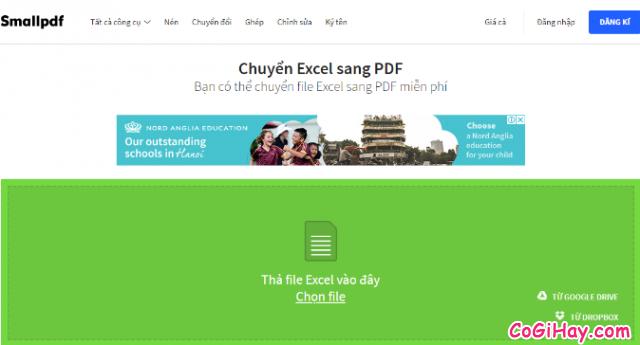 Cách chuyển file Excel sang PDF vẫn giữ nguyên được định dạng + Hình 7