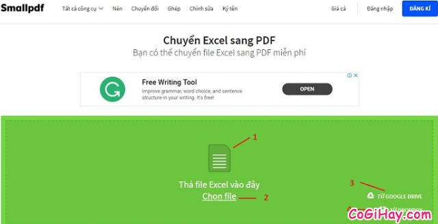 Cách chuyển file Excel sang PDF vẫn giữ nguyên được định dạng + Hình 8