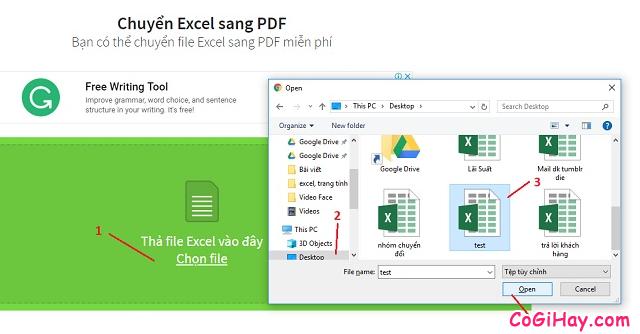 Cách chuyển file Excel sang PDF vẫn giữ nguyên được định dạng + Hình 9