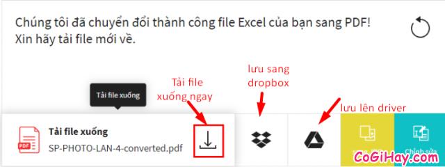 Cách chuyển file Excel sang PDF vẫn giữ nguyên được định dạng + Hình 10