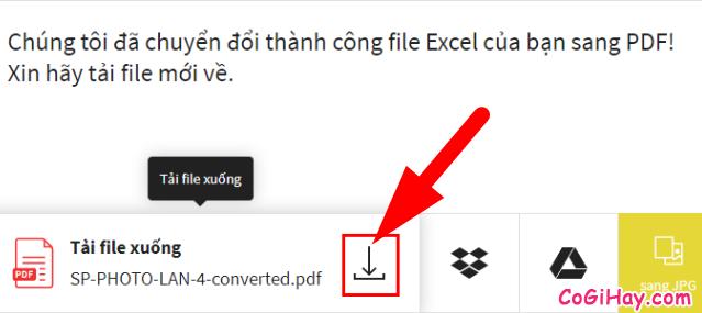 Cách chuyển file Excel sang PDF vẫn giữ nguyên được định dạng + Hình 11