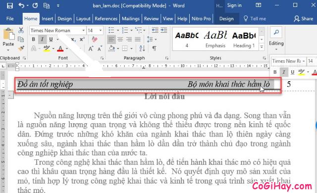 Hướng dẫn tạo mục lục trong Microsoft Word 2003 - 2019 + Hình 3