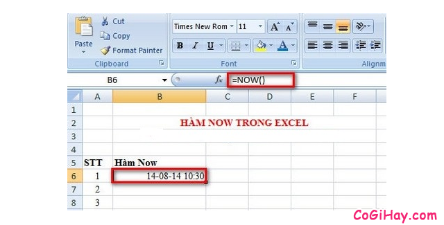 Tổng hợp TOP 10 Hàm cơ bản nhất trong Excel bạn cần biết + Hình 10