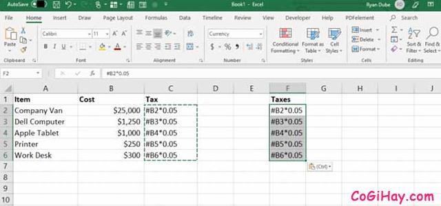 11 Tính năng hữu ích của lệnh PASTE trong Excel + Hình 4