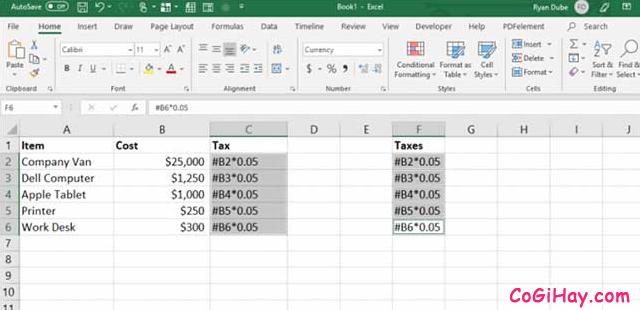 11 Tính năng hữu ích của lệnh PASTE trong Excel + Hình 5