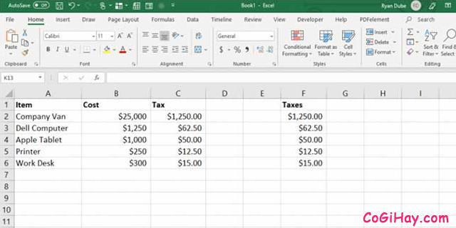 11 Tính năng hữu ích của lệnh PASTE trong Excel + Hình 7