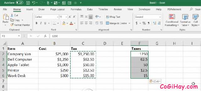 11 Tính năng hữu ích của lệnh PASTE trong Excel + Hình 10