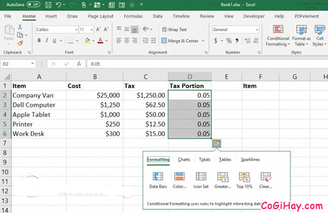 11 Tính năng hữu ích của lệnh PASTE trong Excel + Hình 13