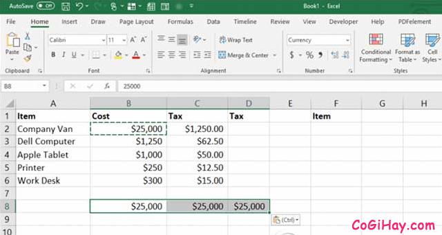 11 Tính năng hữu ích của lệnh PASTE trong Excel + Hình 17