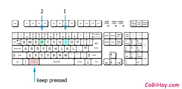 Tổng hợp những tổ hợp phím tắt hay dùng trong Microsoft Excel + Hình 4