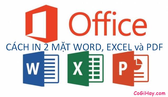 Hướng dẫn in hai mặt giấy trong Word, PDF & Excel + Hình 2