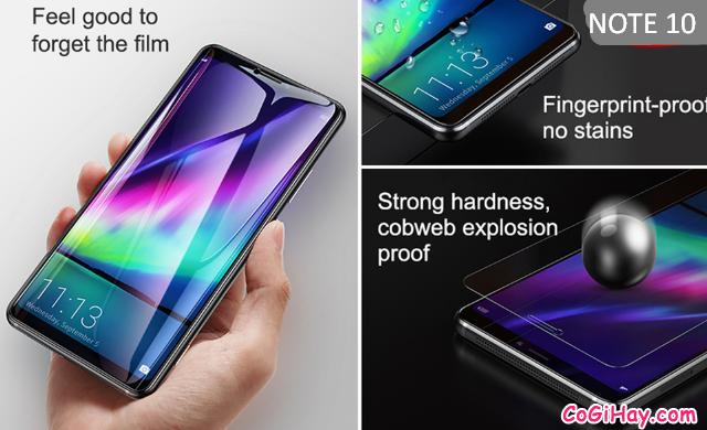 Cách tăng độ nhạy cảm biến vân tay trên màn hình Note 10/Note 10+ + Hình 7