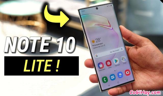 Có gì mới trên phiên bản Samsung Galaxy Note 10 Lite ? + Hình 4