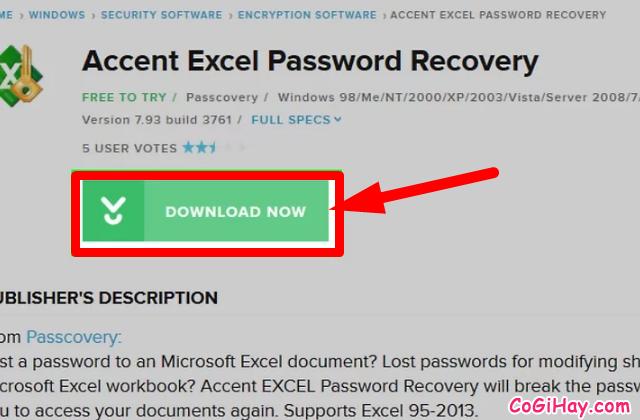 Hướng dẫn bẻ khóa mật khẩu bảo vệ file Microsoft Excel  + Hình 5