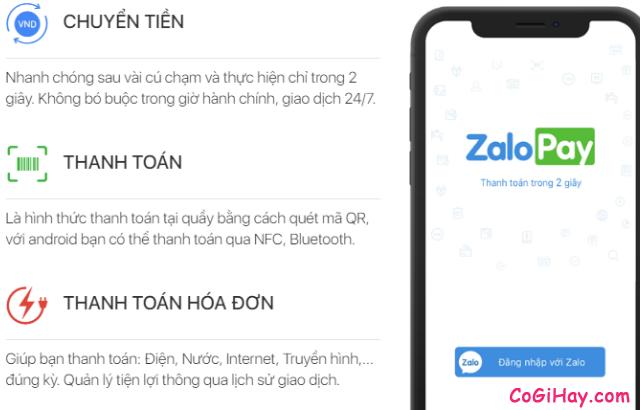 Cách sử dụng ZaloPay để thanh toán và mua hàng Online + Hình 2