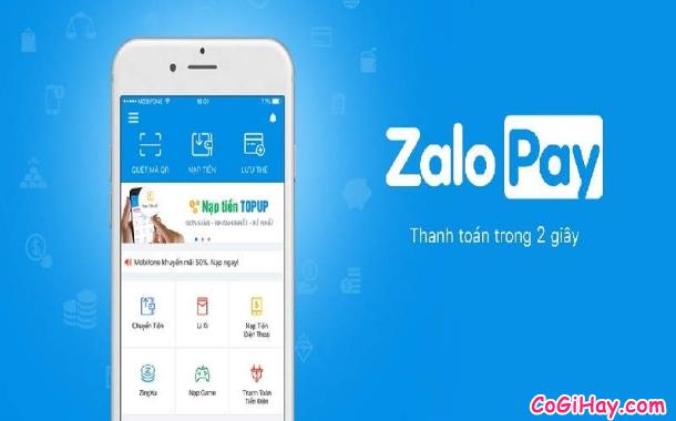 Cách sử dụng ZaloPay để thanh toán và mua hàng Online + Hình 3