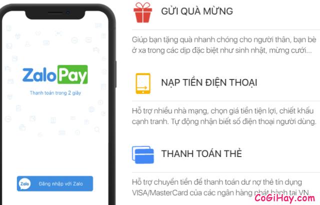 Cách sử dụng ZaloPay để thanh toán và mua hàng Online + Hình 5
