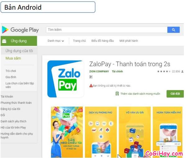 Cách sử dụng ZaloPay để thanh toán và mua hàng Online + Hình 14