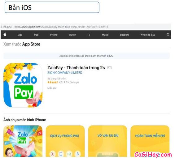 Cách sử dụng ZaloPay để thanh toán và mua hàng Online + Hình 15