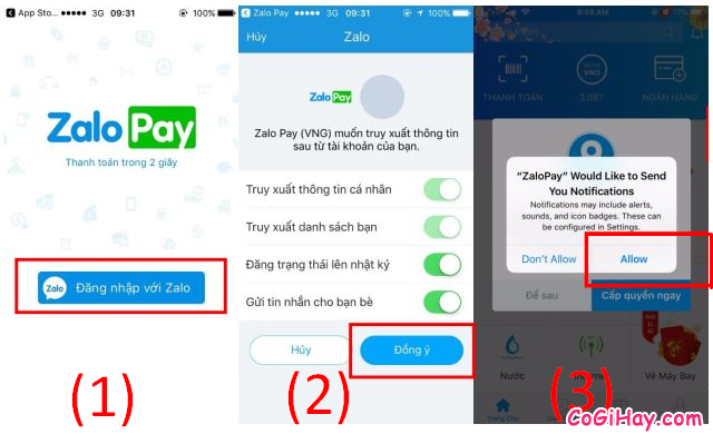 Cách sử dụng ZaloPay để thanh toán và mua hàng Online + Hình 16