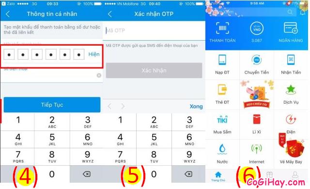 Cách sử dụng ZaloPay để thanh toán và mua hàng Online + Hình 17