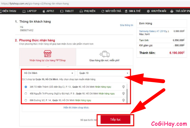 Cách sử dụng ZaloPay để thanh toán và mua hàng Online + Hình 23