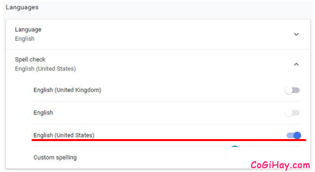 Hướng dẫn kiểm tra chính tả trên Google Chrome + Hình 3