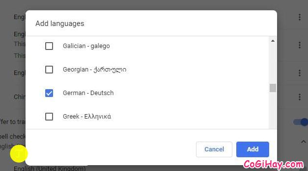 Hướng dẫn kiểm tra chính tả trên Google Chrome + Hình 5