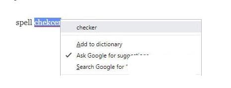 Hướng dẫn kiểm tra chính tả trên Google Chrome + Hình 6