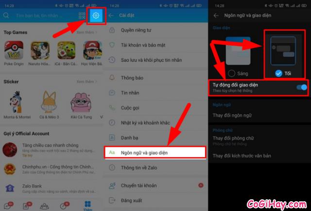 Hướng dẫn kích hoạt chế độ Dark Mode trên App Zalo + Hình 4