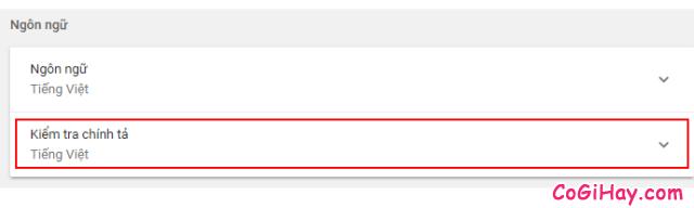 Cách tắt kiểm tra chính tả trên trình duyệt Google Chrome + Hình 4