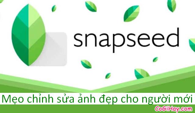 Snapseed – Một vài mẹo chỉnh sửa ảnh đẹp cho người mới