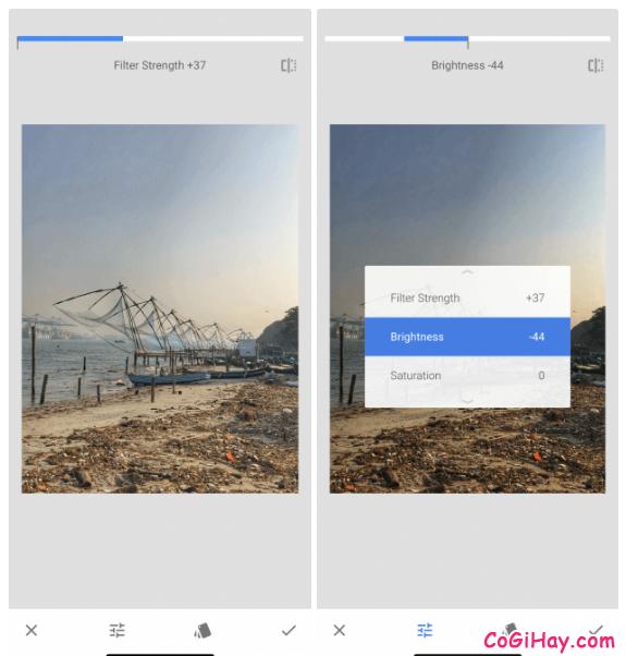 Snapseed - Một vài mẹo chỉnh sửa ảnh đẹp cho người mới + Hình 13