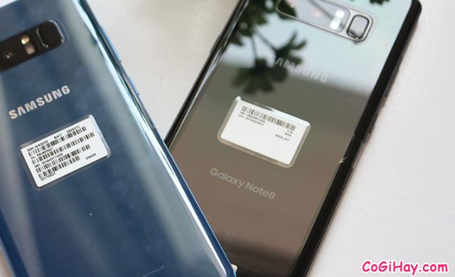 So sánh Galaxy Note 8 Xách Tay Hàn Quốc & Note 8 Mỹ + Hình 7