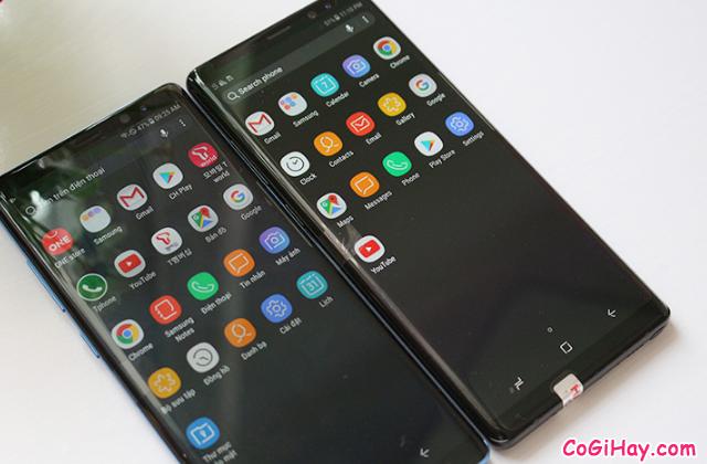 So sánh Galaxy Note 8 Xách Tay Hàn Quốc & Note 8 Mỹ + Hình 10