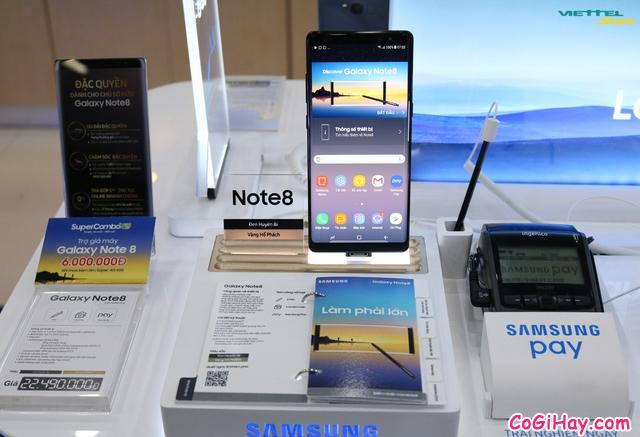 So sánh Galaxy Note 8 Xách Tay Hàn Quốc & Note 8 Mỹ + Hình 11