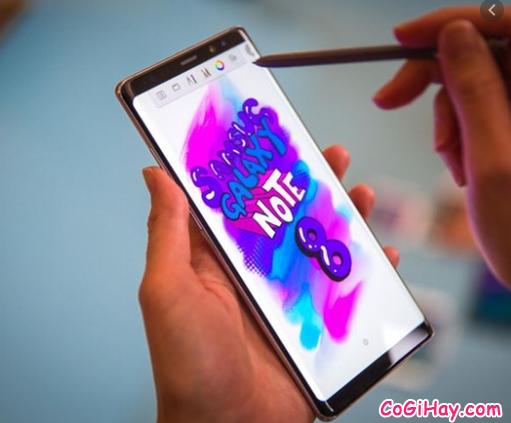 So sánh Galaxy Note 8 Xách Tay Hàn Quốc & Note 8 Mỹ + Hình 12