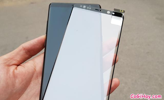 Sử dụng miếng dàn màn hình hay dán kính cường lực cho Note 8? + Hình 7