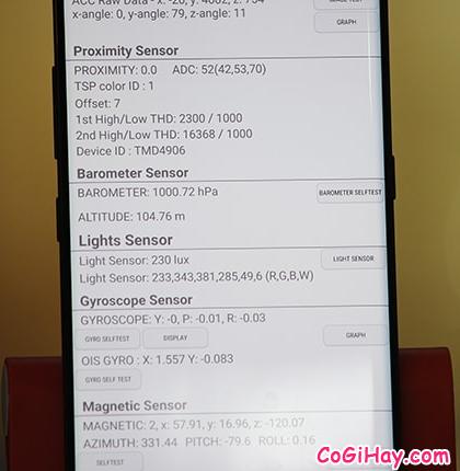 Cách Test, Kiểm tra & Chọn mua Galaxy Note 8 giá rẻ + Hình 24