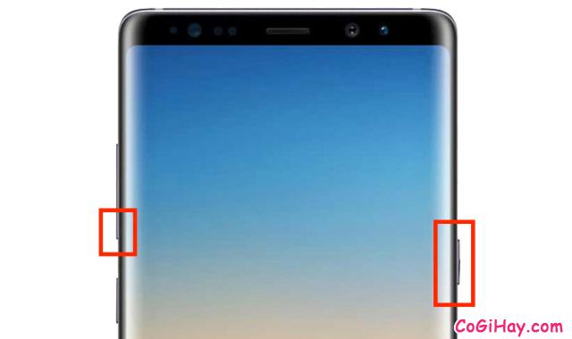 6 Cách chụp ảnh màn hình trên Samsung Galaxy Note 8 + Hình 2