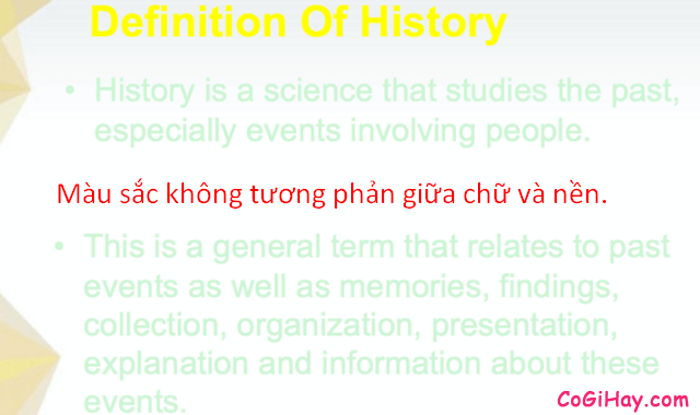 Một số điều cần chú ý khi thiết kế slide PowerPoint + Hình 12