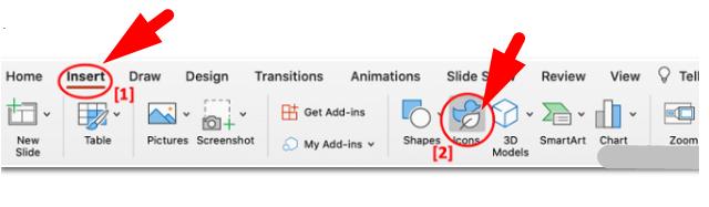 Cách sử dụng icon trên PowerPoint chuyên nghiệp hơn + Hình 3