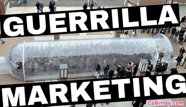 Marketing Du kích là gì ? Ví dụ liên quan Marketing du kích + Hình 7