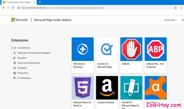 Cách cài đặt Add On cho Microsoft EDGE Chromium + Hình 5