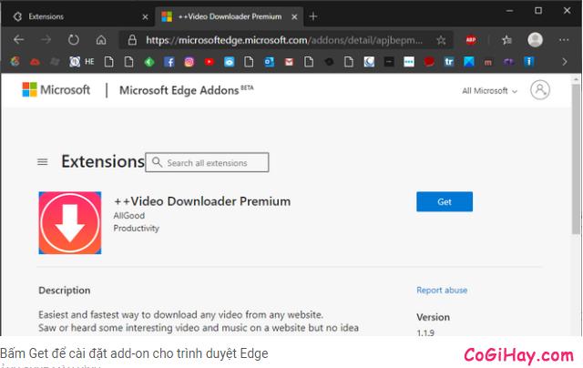 Cách cài đặt Add On cho Microsoft EDGE Chromium + Hình 7