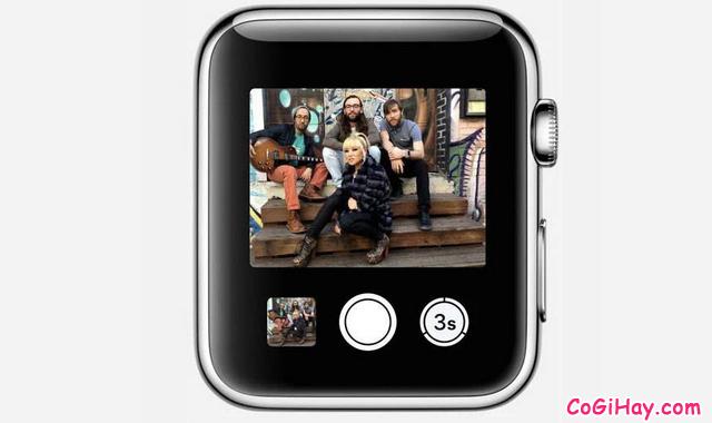 Thủ thuật điều khiển Camera iPhone từ xa bằng Apple Watch + Hình 2