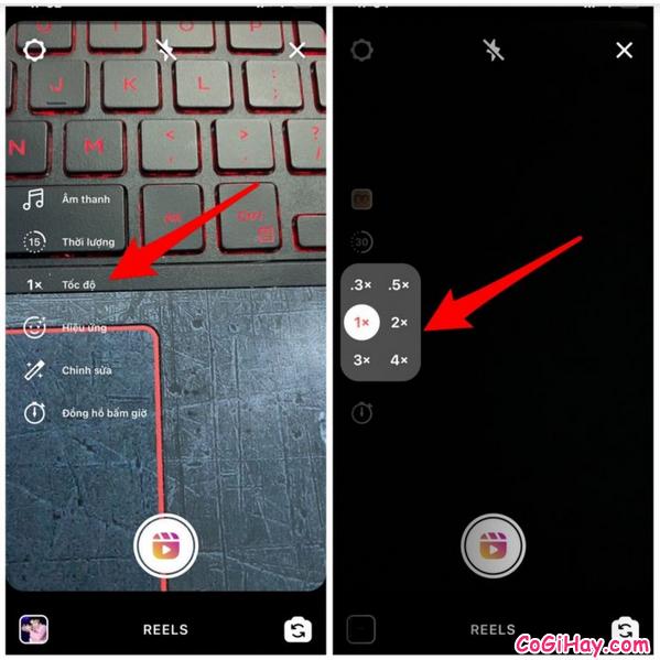 Thủ thuật quay video Reels đăng lên Instagram + Hình 6